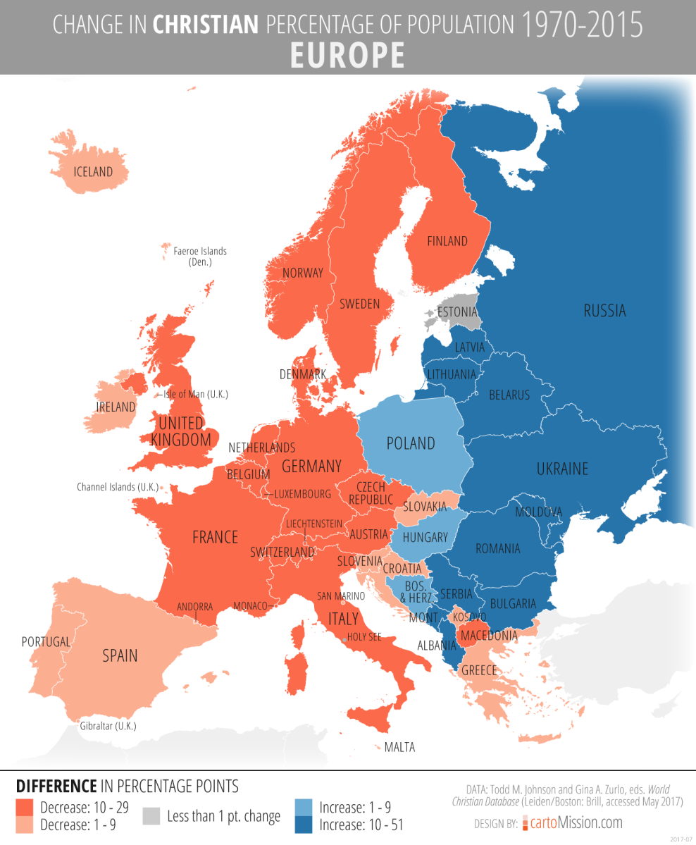 western europe religion change and continuity Relevant essay suggestions for change in continuity for christianity including change of religion change over time western europe was under the rule of the roman empire until the empire collapsed in 500 ce.